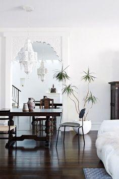 beautiful combination of white and dark
