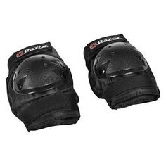 Foam Elbow Pads HRP Elbow Guards Lightweight Black for Sports 1pair