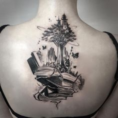 Awe-inspiring Book Tattoos for Literature Lovers - KickAss Things - You are in the right place about Awe-inspiring Book Tattoos for Literature Lovers – KickAss Thing - Tattoo Buch, Book Tattoo, Hp Tattoo, Tattoo Small, Tattoo Flash, Sexy Tattoos, Body Art Tattoos, Sleeve Tattoos, Cat Tattoos