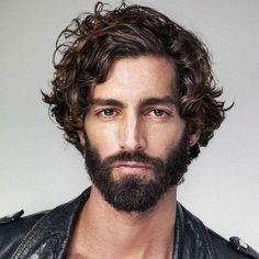 Wavy Hair Men, Curly Hair With Bangs, Short Wavy Hair, Curly Hair Cuts, Natural Wavy Hair, Guy Hair, Haircuts For Wavy Hair, Cool Haircuts, Haircuts For Men