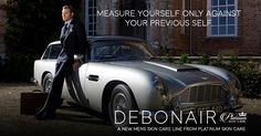 Debonair for Men | Skin Care for men by Platinum Skin Care