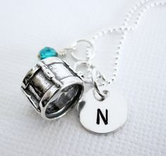 Drummer Necklace  Sterling Silver Drum Charm by PatriciaAnnJewelry, $39.50