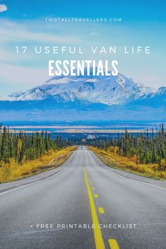 Living the van life is such a fun experience, so don't let the excitement get in the way of preparing properly! Make sure you have these van life essentials to make your road trip go smoothly. Whether you're on a bucket list road trip in Australia, west coast drive in the USA or a weekend trip around Iceland's ring road - download this list and stock up with everything you'll need to live in a van!  #campervan #packinglist #roadtrip #campinggear #campervankitchen #campervanbed…