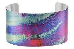 Colored Stainless Steel Cuff Bracelet by Tattooed Steel  $52