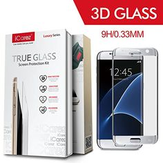 iCarez Full Cover Tempered Glass Screen Protector for Samsung Galaxy S7 Edge 9H Anti Scratch (Silver)-Retail Packaging iCarez http://www.amazon.com/dp/B01CCE5FGK/ref=cm_sw_r_pi_dp_KNt4wb141B4KK