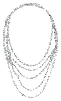 Brins de Diamant #Necklace from #LesBlesDeChanel - #Chanel - #FineJewelry…