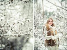 фотосессия беременных зимой на природе - Поиск в Google