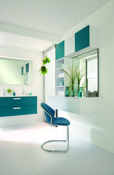 NEW COLOUR for 2015! ARCOS E130 IN AUSTIN  One of the latest colours to join our extensive range, Austin is a bold petrol blue that adds vitality to any room. Arcos E130: High density particle board finished in melamine.