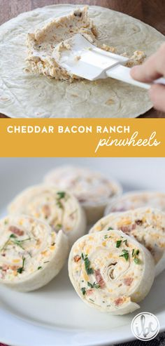 Bacon Ranch Tortilla Pinwheels Need a quick and delicious appetizer? Try these Cheddar Bacon Ranch Tortilla Pinwheels!Need a quick and delicious appetizer? Try these Cheddar Bacon Ranch Tortilla Pinwheels! Birthday Appetizers, Bacon Appetizers, Quick Appetizers, Finger Food Appetizers, Easy Appetizer Recipes, Holiday Appetizers, Cold Party Appetizers, Italian Appetizers, Parties Food