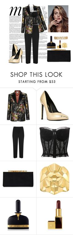 """""""#212"""" by souffle-girl0 ❤ liked on Polyvore featuring Whiteley, Gucci, Yves Saint Laurent, Prada, Dolce&Gabbana, Jimmy Choo, Chanel, Tom Ford and Erickson Beamon"""