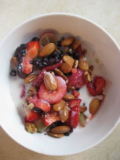 Paleo Breakfast Cereal:Never thought of doing it like this...sometimes all u need is something simple!
