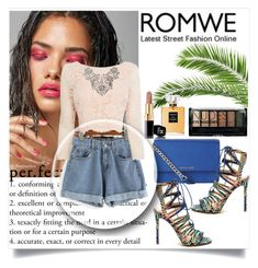 """""""romwe"""" by dina-97 ❤ liked on Polyvore featuring Coast, MICHAEL Michael Kors, Boohoo and Chanel"""