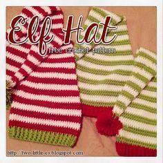 Elf Hat Free Crochet Pattern More