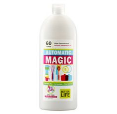 Automatic Magic dishwasher detergent. All natural, no harsh chemicals, and works beautifully! Love it! I'm sold!