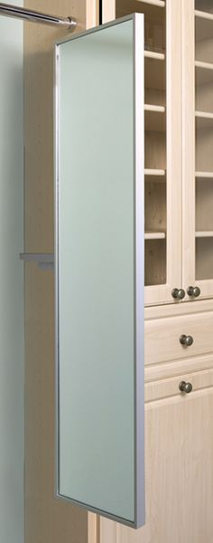 Mirror, pull out, pivoting Closet Mirror, Mirror Mirror, Mirrors, New Room, Bathroom Medicine Cabinet, Tall Cabinet Storage, Bathrooms, Wall, Master Bath