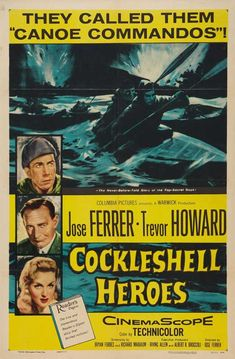 The Cockleshell Heroes is a 1955 British war film with Trevor Howard, Anthony Newley, David Lodge and José Ferrer, who also directed. Description from snipview.com. I searched for this on bing.com/images