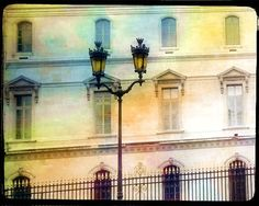 Paris Photography, Paris Buildings, Old Buildings Paris, Paris Watercolor Art Print, Paris Street Scene