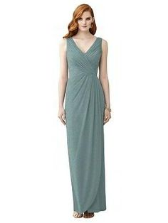 Details about  /JY JENNY YOO formal bridesmaid prom lux shimmer halter dress gown green Sz 2 NEW