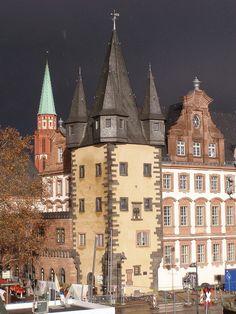 Wharfinger's Tower (Rententurm), Frankfurt am Main, Germany