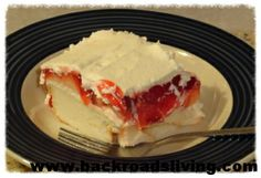 ANGEL FOOD STRAWBERRY DELIGHT RECIPE - Back Roads Living