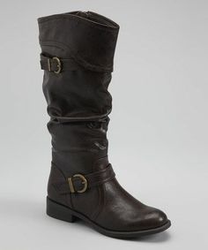 Take a look at this Brown Lariat Boot by White Mountain