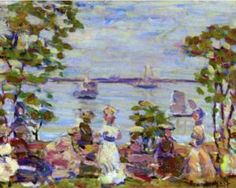 Seaside Picnic - Maurice Prendergast