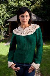 Ravelry: Attleboro Sweater pattern by Christine Guest