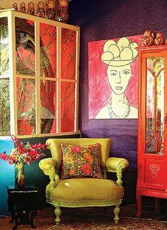 colorful decor palette