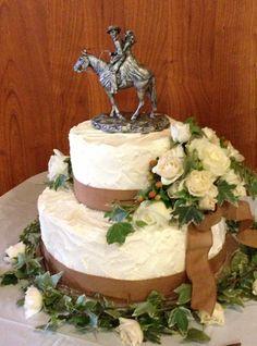 Western Theme Wedding cake | Western theme, Wedding cake and Cake
