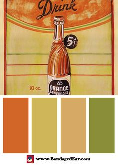Retro Color Palettes for Decorating « BandagedEar.com Blog