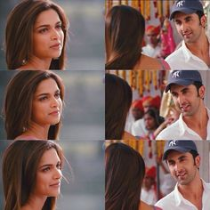 Deepika Padukone and Ranbir Kapoor in YJHD