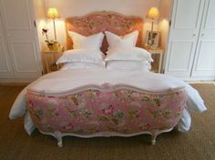 Gorgeous French Corbielle double bed x by LadyBsEmporiam on Etsy, £875.00