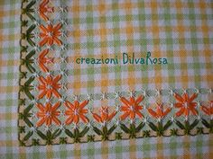 Hand Embroidery Projects, Hand Embroidery Stitches, Embroidery Patterns, Chicken Scratch Embroidery, Crochet Bedspread, Crochet Square Patterns, Needlepoint, Diy And Crafts, Cross Stitch