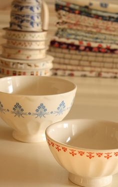 Style de bols fréquemment utilisés autrefois en France dans les fermes