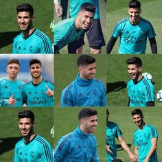 Always smiling :). Real Madrid Players, Soccer Workouts, I Work Hard, Always Smile, Football Players, Baseball Cards, Survival, Star, Quotes