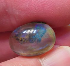 Stunning Natural 8.8ct Welo Scenic Opal Oval