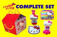 2015 McDonalds Happy Meal Toy Hello Kitty Complete Set Stationary. Absolutely adorable! You can't help but to fall in love with this totally awesome Hello Kitty Stationary Set from the McDonalds Happy Meal Toys Collection for 2015. Here is the complete set.  Subscribe to our ♥awesome♥ channel here: https://www.youtube.com/toyboxmagic