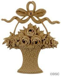 decorators supply item 1805f rose basket 5 58 w x 7 - Decorators Supply