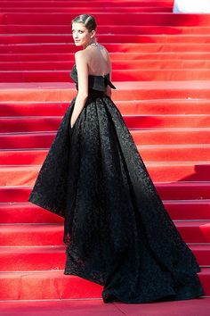 Anya Chipovskaya in Bohemique Demi Couture special dress