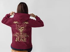 Discover Saleswomen Are Born In June Sweatshirt from Salesman T Shirts, a custom product made just for you by Teespring. With world-class production and customer support, your satisfaction is guaranteed. - All women are created equal but only the best...