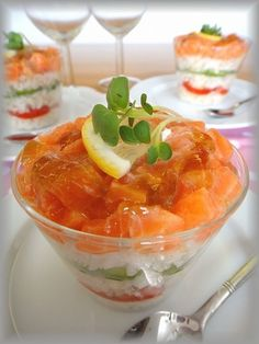 Sushi in a cup