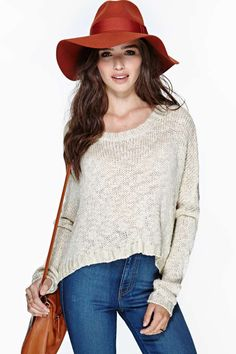 Fawn Crop Sweater  #NastyGal