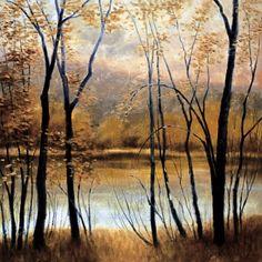 Robert Striffolino Peaceful River Gallery Wrap