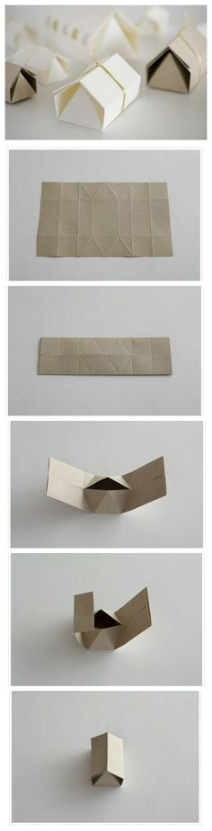 folding houses #DIY #paperhouse