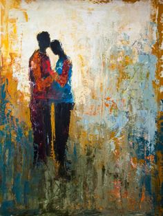 """Saatchi Art Artist Shelby McQuilkin; Painting, """"Me & You"""" #art"""