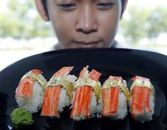 The World's Most Expensive Sushi $2,000 #luxury