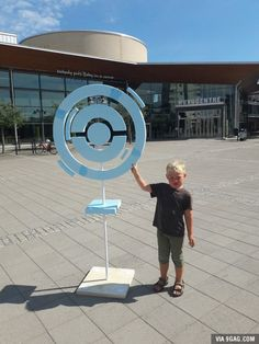 My university created a Real Pokestop at a Pokestop.
