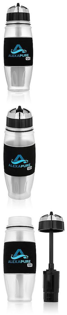 Other Bottles and Hydration 181410: Alexapure Go Water Filtration System 28 Oz Sport Bottle New -> BUY IT NOW ONLY: $36.66 on eBay!