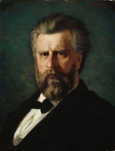 Portrait of the Sculptor C. Abraham Lincoln, Portrait, Art, Museum, Art Background, Headshot Photography, Kunst, Portrait Paintings, Performing Arts