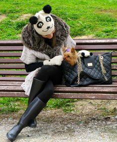Fashion and Style Blog / Blog de Moda . Post: Funny morning with Mini / Divertida mañana con Mini See more/ Más fotos en : http://www.ohmylooks.com/?p=5434 by Silvia García Blanco